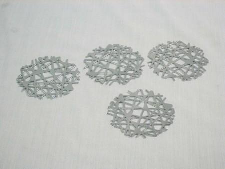 樹枝系列造型杯墊4件組