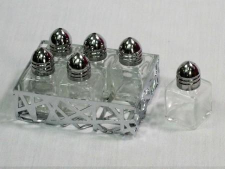 樹枝系列造型調味罐架6件組