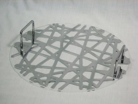 樹枝系列造型圓端盤