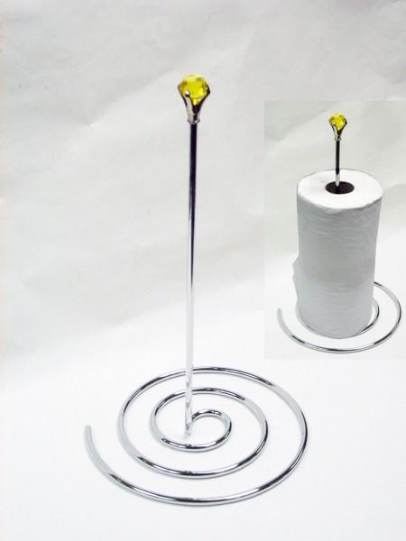鐵線鑽石紋香餐巾紙架