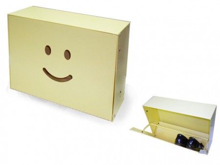 微笑造型鞋櫃