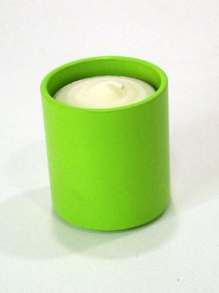 綠色圓型燭台架