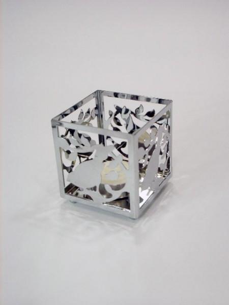 小四方小鳥造型燭台架
