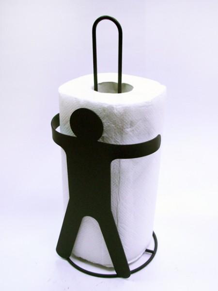 男人造型餐巾紙捲架
