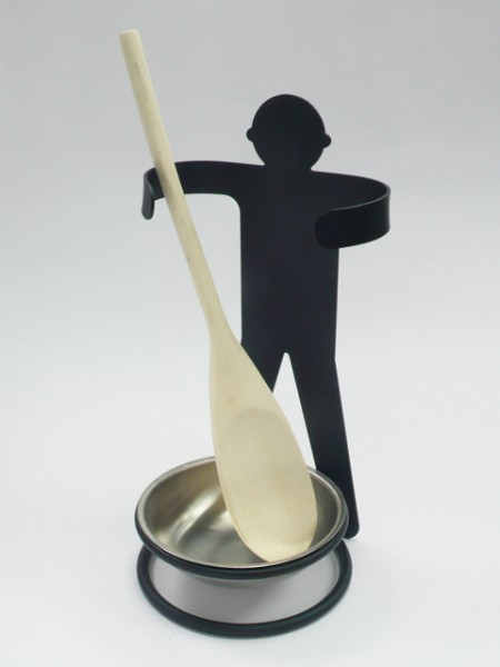 小孩造型湯匙架