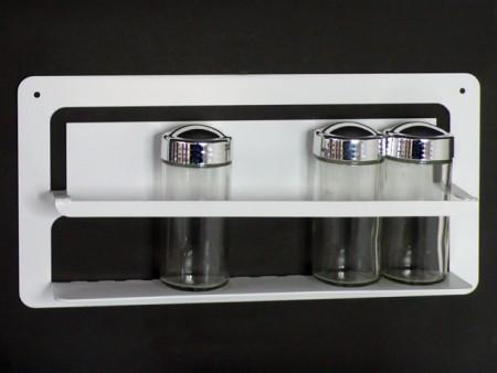 鎖壁五入調味罐架