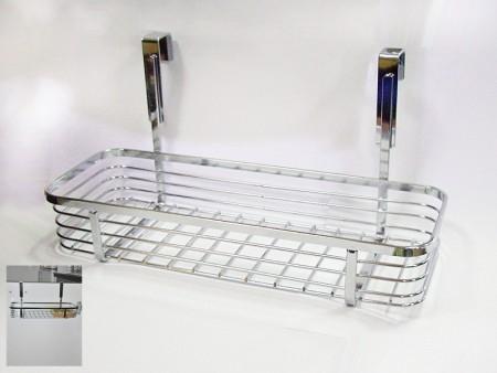 廚櫃後扁鐵線長方形置物籃
