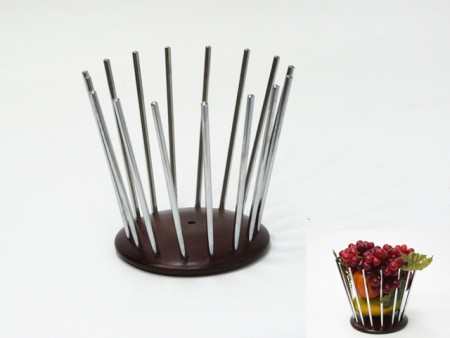 鐵線水果籃