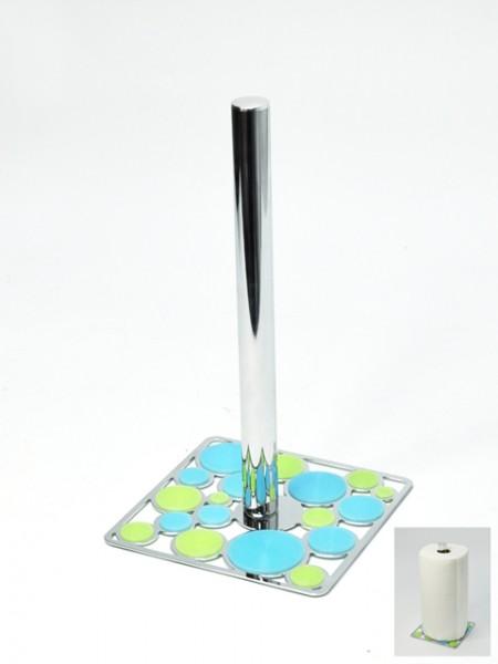 雙色矽膠圈圈餐巾紙圈架