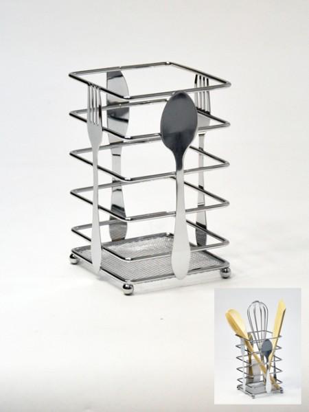 餐具造型長方餐具桶