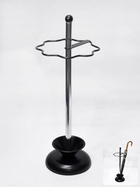 黑色烤漆鐵線造型傘架