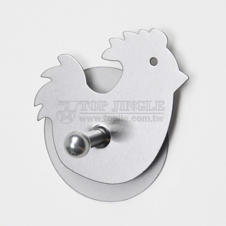 Chick Shaped Single Hook