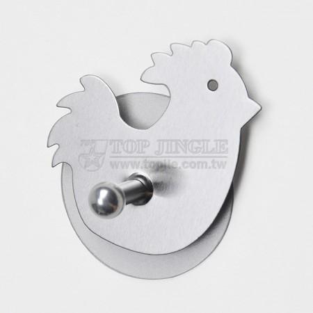 Одиночный крючок в форме цыпленка