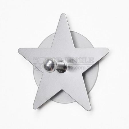 Одинарный крючок в форме звезды