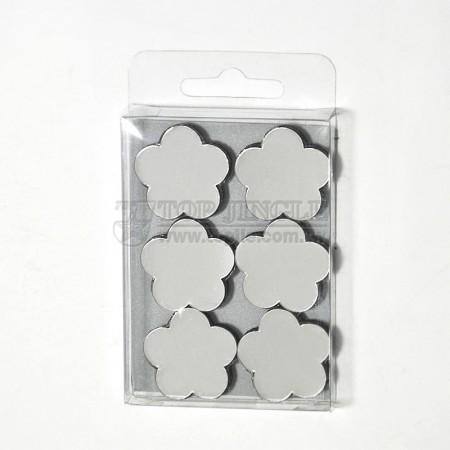開花造型磁鐵6件組
