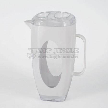 方錐型橢圓洞造型冷水壺