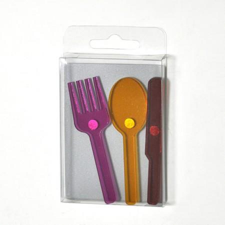 刀叉造型磁鐵組