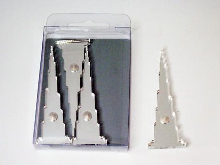 杜拜塔造型磁鐵4件組