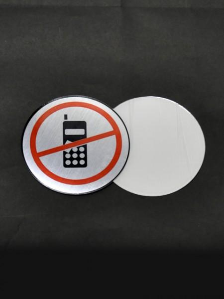 可多次自黏告示貼-禁止打手機
