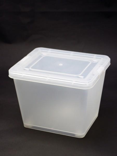 白色中型置物盒