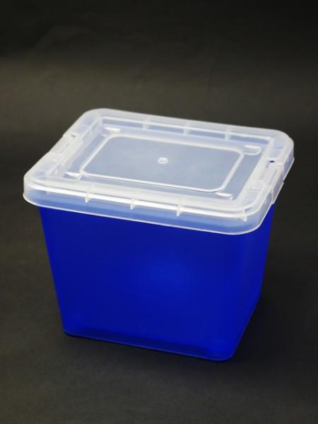 藍色大型置物盒