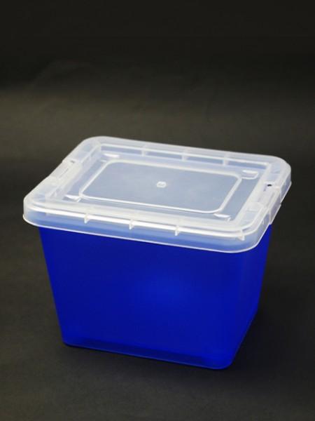 藍色中型置物盒