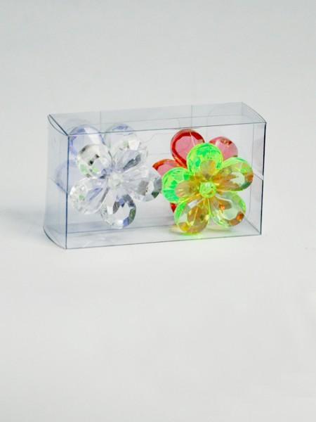 花瓣造型壓克力磁鐵4件組
