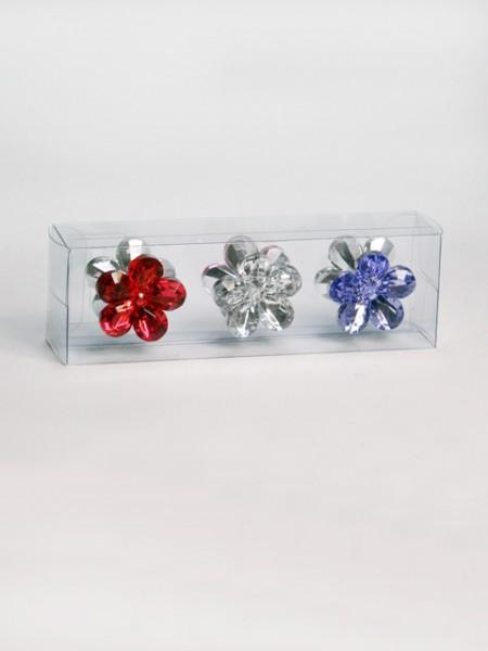 花瓣造型壓克力磁鐵組6件組