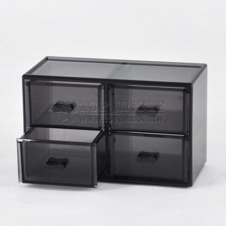 直立四格小抽置物盒