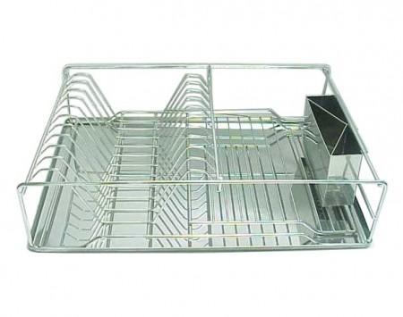 不鏽鋼碗盤架,含刀叉架,底盤