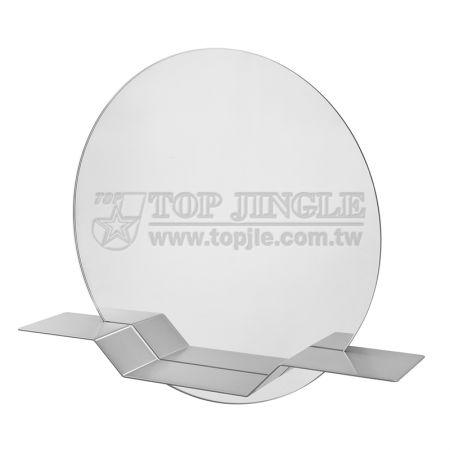 Круглое подвесное зеркало для хранения