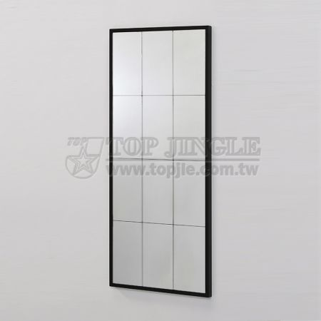 Wall-Mounted Rectangle Hanging Mirror
