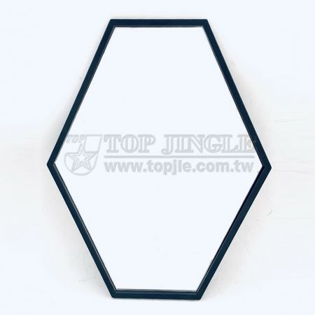 Hexagon Shape Hanging Mirror
