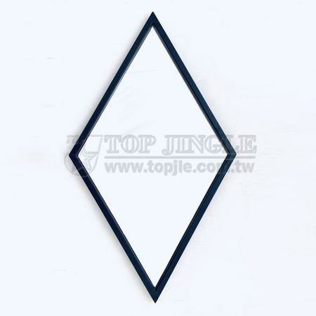 Diamond Shape Hanging Mirror