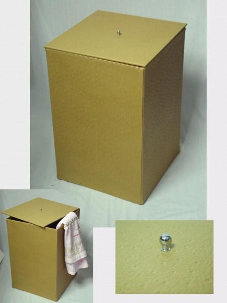 Square PVC Laundry Bin