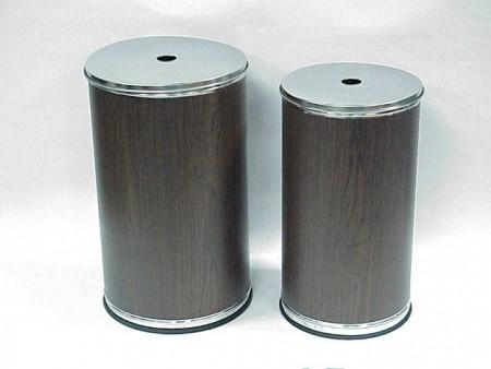 Деревянные баки для белья с печатью