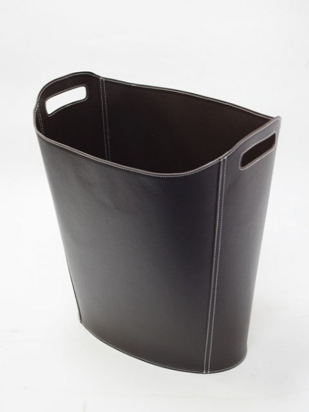 Portable Brown Magazine Basket