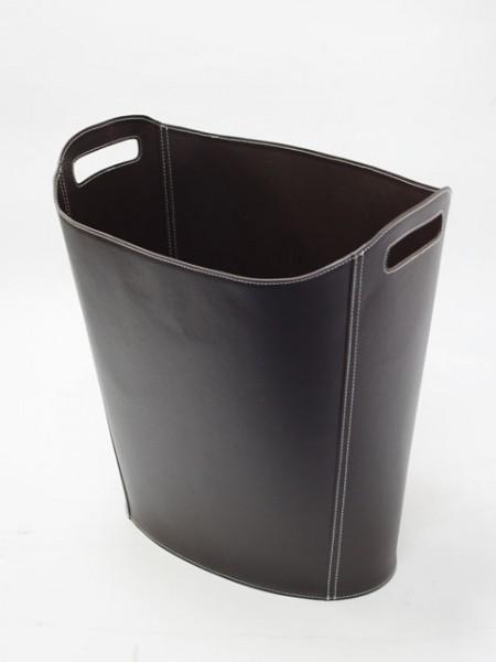 Портативная коричневая корзина для журналов