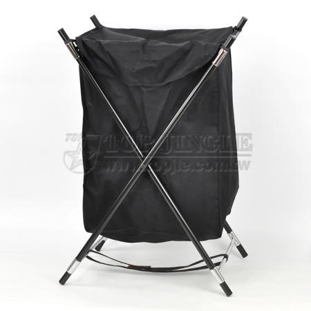 X Shape Laundry Basket Rack