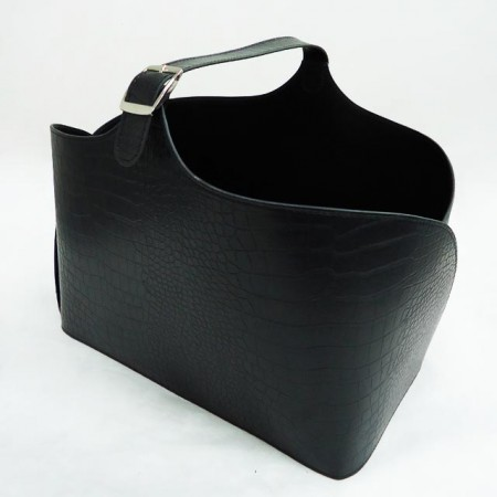 Magazine Basket with Handle