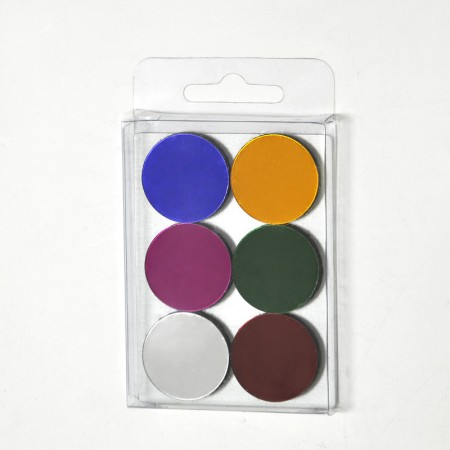 Colored Round Magnet Set