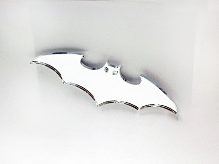Mirror Acrylic Bat Magnet
