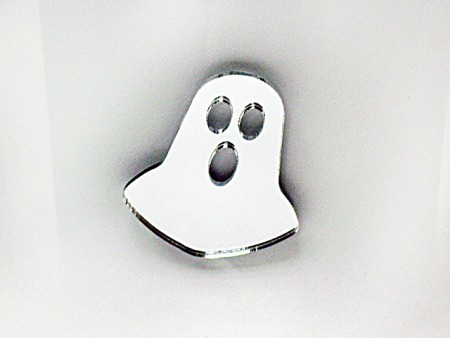 Mirror Acrylic Ghost Magnet