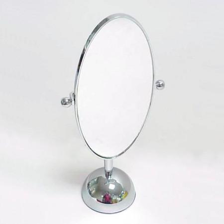 楕円形の卓上ミラー