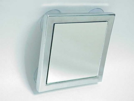 Square Mirror With Suction