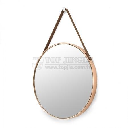 Küçük Duvara Monte Yuvarlak Ayna