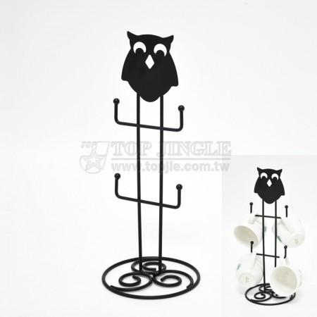 Owl Design Mug Tree