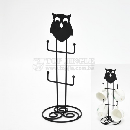 Owl Design Mug Tree