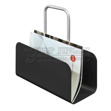 Porte-revues de conception de sac à main