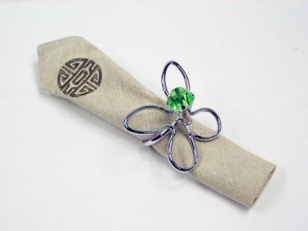 Кольцо для салфеток в форме бабочки